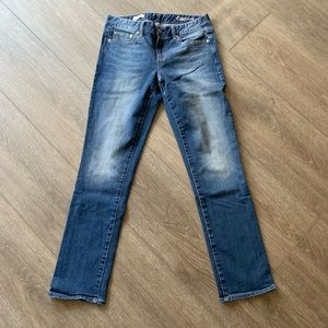 Gap 1969 jeans real straight denim 28 regular